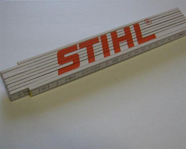 Stihl Meterstab- Zollstock / 2 Meter