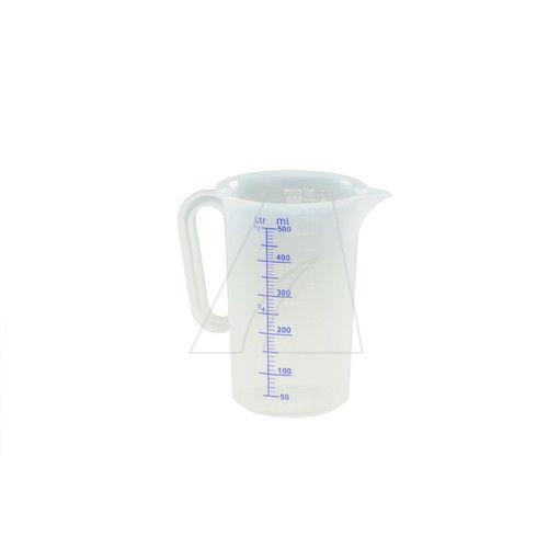 Messbecher / Messkanne transparent 500 ml