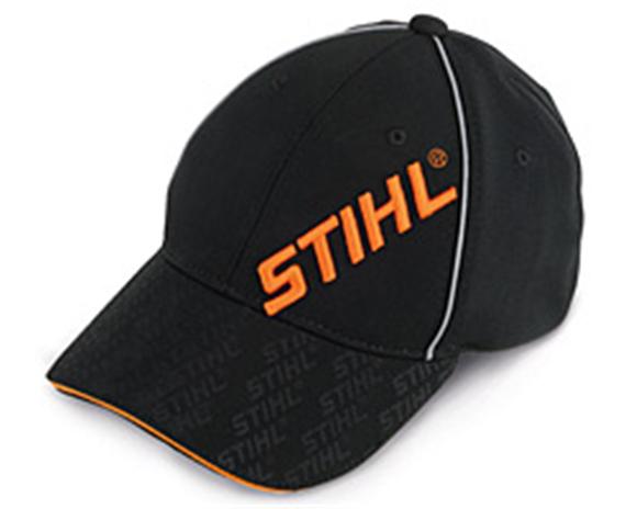Baseballmütze Stihl, grau/schwarz - mit Stickerei