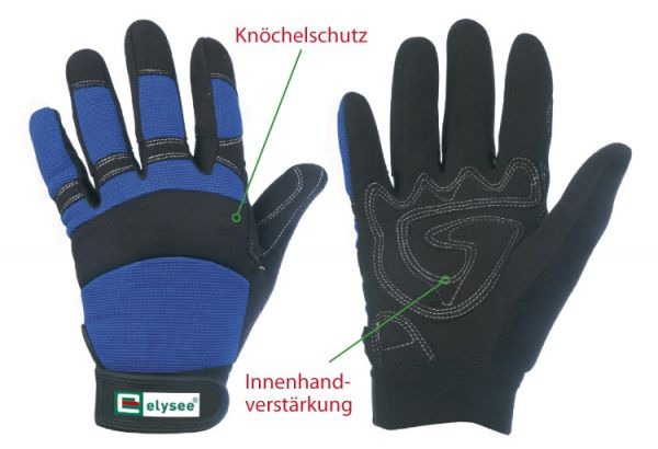 Elysee Handschuhe Mechanical MASTER