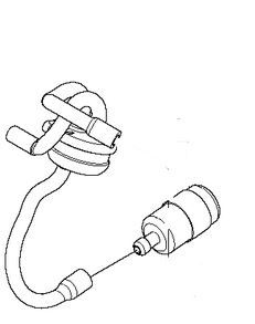 Benzinleitung Jonsered CS2236 T mit Filter