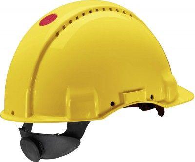 Peltor Forstschutz - Helm G 3000 Solaris UVICATOR gelb mit Ratschensytem