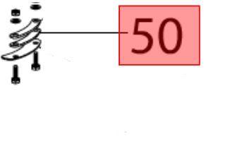 Dichtung Turm Efco ARTIK 56, 56EL, 62ELD, 70ELD, 70ELDT