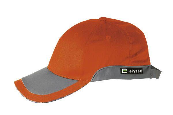 Elysee Cap ROMAN Warnschutz-Orange