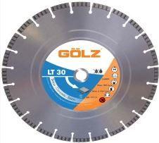Gölz Diamanttrennscheibe LT-30 Laser-Beton 300x25,4 Bohrung