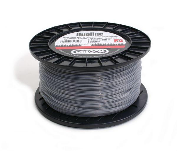 Mähfaden 2,4mm / ca.180 Meter Nylon-Rundfaden Duoline