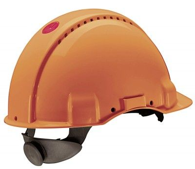 Peltor Forstschutz - Helm G 3000 Solaris UVICATOR orange mit Ratschensytem