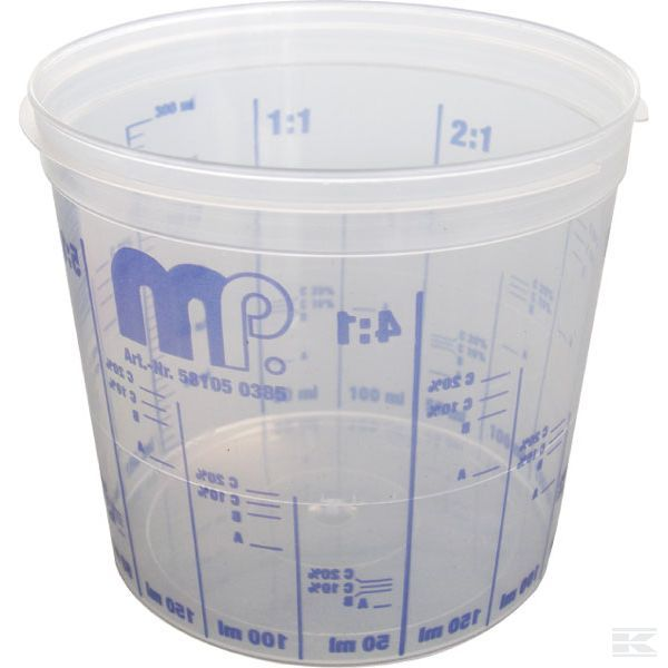 Mischbecher / Messbecher transparent 385 ml