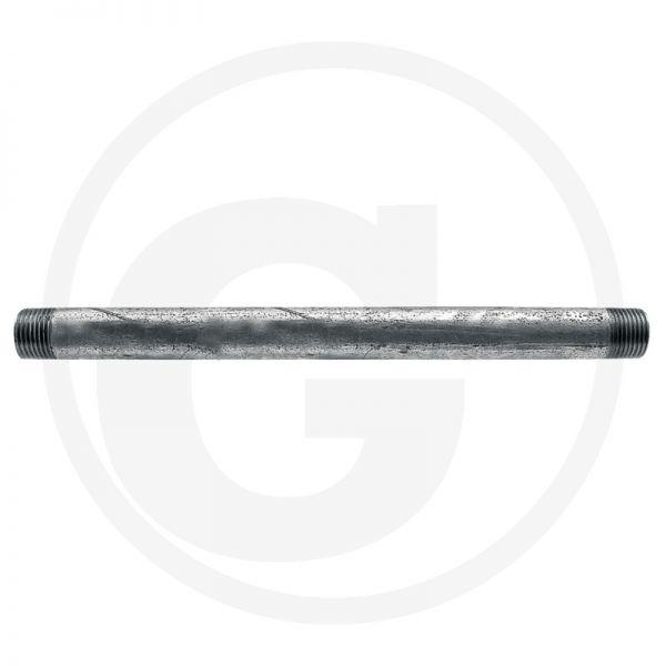 """Rohrleitung Rohrnippel 60mm 3/4"""" AG"""