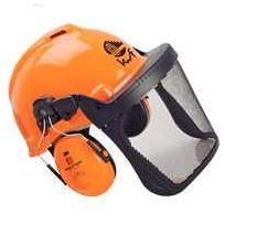 Peltor Forstschutz- Helm G22D Sicht und Gehörschutz DIN 4840 Optime I H510