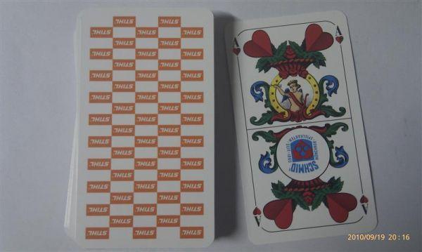 Stihl Spielkarten (Schafkopf)