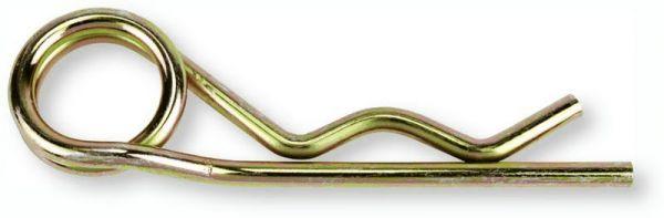 Vorstecker Federsplint 4mm doppelt gebogen