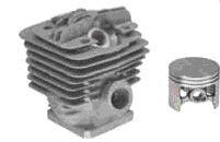 Zylinder mit Kolben Stihl 034 / 036 / MS360 mit Dekoöffnung