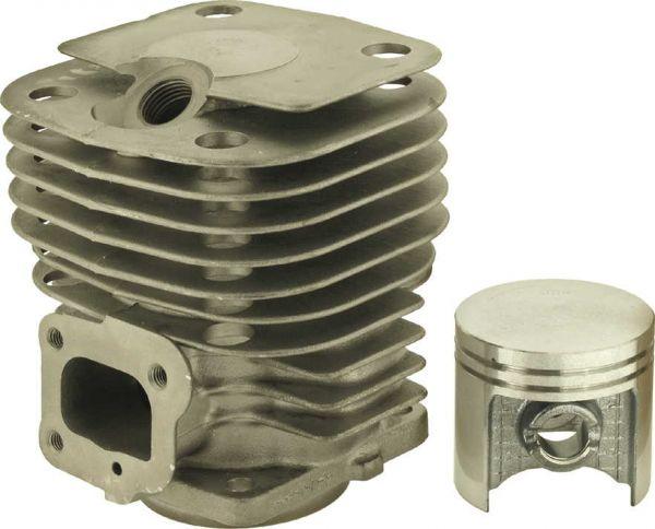 Zylinder Dolmar 123 neue Ausführung (anderere Haube) Ø = 47